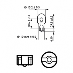HONDA CIVIC 2.2 CTDi (FK3) 140 LE gyártási év 09.2005 - Tolatólámpa izzó (12067B2) PHILIPS Online áruház