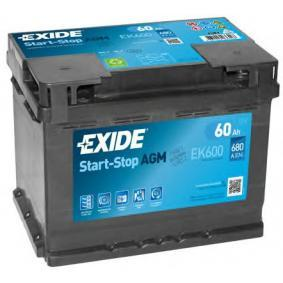 EXIDE Autobatterie EK600