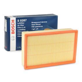 Luftfilter BOSCH Art.No - F 026 400 287 OEM: 5Q0129620D für VW, AUDI, SKODA, SEAT, PORSCHE kaufen