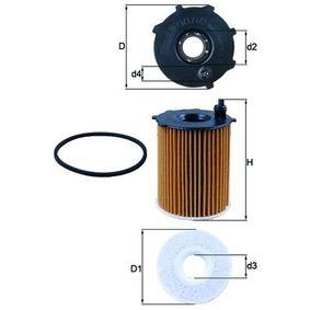 2 (DY) KNECHT Oil filter OX 171/2D