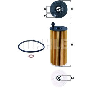 KNECHT Ölfilter (OX 404D) niedriger Preis