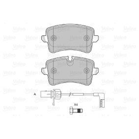 VALEO Kit de plaquettes de frein, frein à disque 4H0698451M pour VOLKSWAGEN, AUDI, SEAT, SKODA acheter