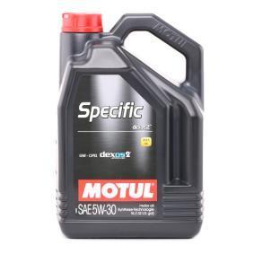 SUZUKI BALENO Motorenöl 102643 von MOTUL Original Qualität