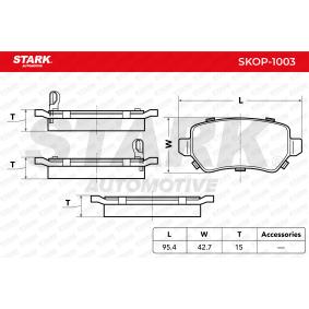ZAFIRA B (A05) STARK Ansaugschlauch, Luftfilter SKOP-1003