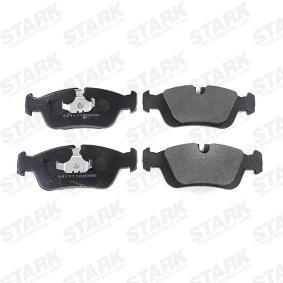 STARK SKBM-1004 Bremsbelagsatz, Scheibenbremse OEM - 34212157575 BMW, BILSTEIN, BMW (BRILLIANCE), R BRAKE günstig