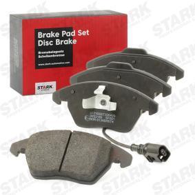 JZW698151B für VW, AUDI, SKODA, SEAT, Bremsbelagsatz, Scheibenbremse STARK (SKAD-1008) Online-Shop