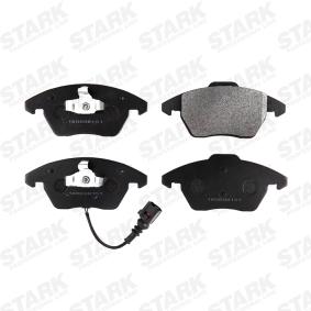 STARK SKAD-1008 Bremsbelagsatz, Scheibenbremse OEM - JZW698151B AUDI, SEAT, SKODA, VW, VAG, BENDIX-AU, G.U.D. günstig
