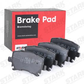 STARK Bremsbelagsatz, Scheibenbremse (SKAD-1009) niedriger Preis