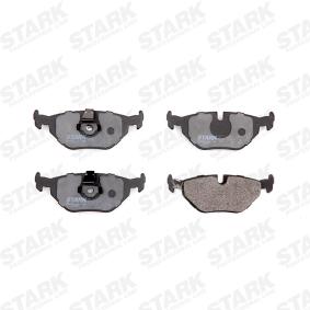 STARK SKAL-1025 Bremsbelagsatz, Scheibenbremse OEM - 34212157591 BMW, BILSTEIN, sbs günstig