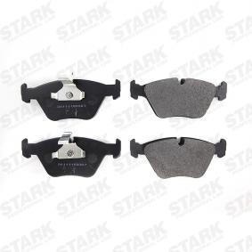 34116761277 für BMW, Bremsbelagsatz, Scheibenbremse STARK (SKBM-1026) Online-Shop