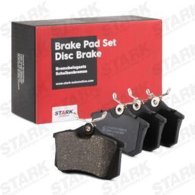 1H0698451 für VW, AUDI, FIAT, PEUGEOT, SKODA, Bremsbelagsatz, Scheibenbremse STARK (SKAD-1028) Online-Shop