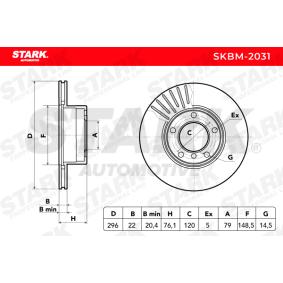 STARK BMW 5er Bremsscheiben (SKBM-2031)
