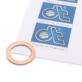 Уплътнителен пръстен, пробка за източване на маслото DT Art.No - 9.01028 OEM: 007603014106 за MERCEDES-BENZ, VOLVO купете