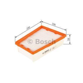 BOSCH Motorluftfilter F 026 400 229