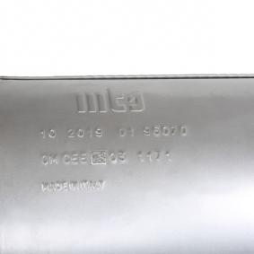 MTS FIAT PUNTO Muffler (01.96070)