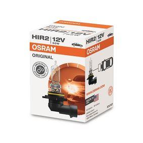 OSRAM Крушка с нагреваема жичка, фар за дълги светлини (9012) на ниска цена