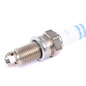 Spark plug (0 242 145 503) producer BOSCH for FIAT PUNTO (188) year of manufacture 09/1999, 80 HP Online Shop