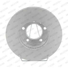 Bremsscheibe FERODO Art.No - DDF1217C-1 OEM: 9111038 für OPEL, RENAULT, NISSAN, VAUXHALL, PLYMOUTH kaufen