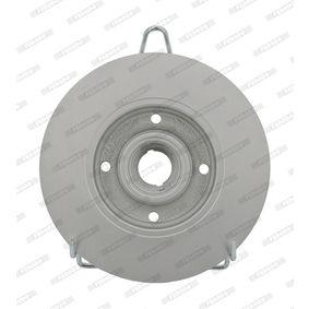 FERODO VW GOLF Bremsscheiben (DDF137C-1)