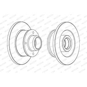 Bremsscheiben FERODO (DDF137C-1) für VW GOLF Preise