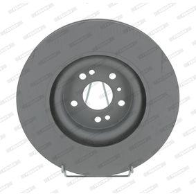 FERODO Спирачен диск (DDF1532C-1)