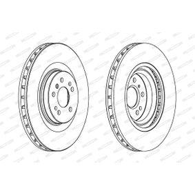 FERODO MERCEDES-BENZ M-класа Спирачен диск (DDF1532C-1)
