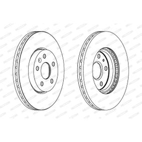 Bremsscheibe FERODO Art.No - DDF1722C-1 kaufen