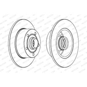 FERODO Bremsscheibe 8D0615301B für VW, AUDI, SKODA, SEAT bestellen