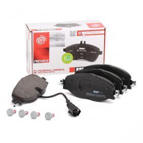 5Q0698151A pour VOLKSWAGEN, AUDI, SEAT, SKODA, Kit de plaquettes de frein, frein à disque FERODO (FDB4433) Boutique en ligne