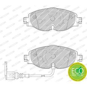 FERODO Kit de plaquettes de frein, frein à disque FDB4433