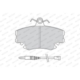 FERODO Bremsbelagsatz, Scheibenbremse FDB845B