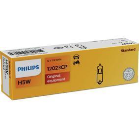 12023CP Glühlampe, Innenraumleuchte von PHILIPS Qualitäts Ersatzteile