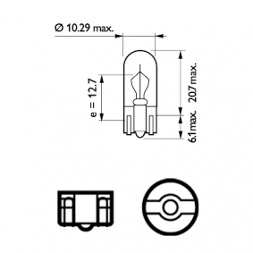 Kofferraumbeleuchtung 12040VPB2 PHILIPS