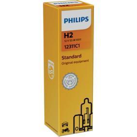 12311C1 Крушка с нагреваема жичка, фар за дълги светлини от PHILIPS качествени части