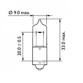 Bulb, indicator 12356CP online shop