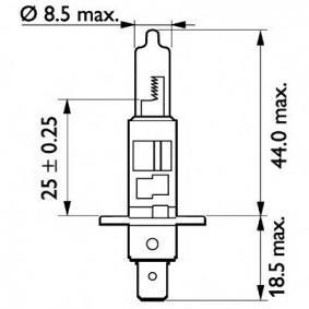 13258MDC1 Glühlampe, Fernscheinwerfer von PHILIPS Qualitäts Ersatzteile