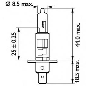 13258MDC1 Bulb, spotlight from PHILIPS quality parts