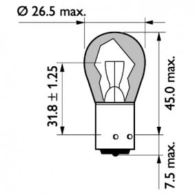 Glühlampe, Blinkleuchte 13496MLCP Online Shop