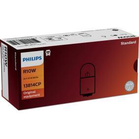 Bulb, licence plate light 13814CP online shop