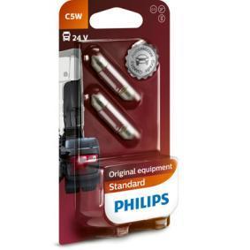 13844B2 Glühlampe, Kennzeichenleuchte von PHILIPS Qualitäts Ersatzteile
