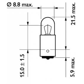 13929MDCP Крушка с нагреваема жичка, мигачи от PHILIPS качествени части