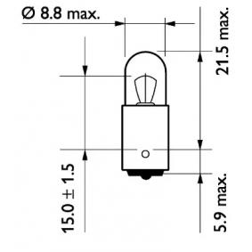 13929MLCP Glühlampe, Blinkleuchte von PHILIPS Qualitäts Ersatzteile