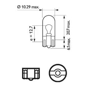 13961CP Крушка с нагреваема жичка, мигачи от PHILIPS качествени части