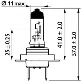 000000004221 für MERCEDES-BENZ, Glühlampe, Fernscheinwerfer PHILIPS (13972MDBVS2) Online-Shop