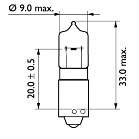 Bulb, indicator 24356CP online shop