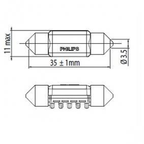 249446000KX1 Крушка с нагреваема жичка, светлини купе от PHILIPS качествени части