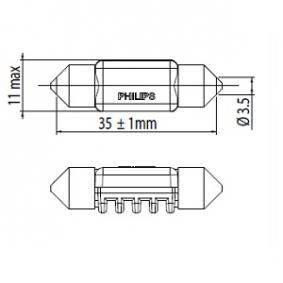 249446000KX1 Bulb, interior light from PHILIPS quality parts
