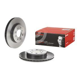 BREMBO 09.5509.11 Спирачен диск OEM - 45251SK7A00 HONDA, MG, ROVER, LOTUS, ACURA, AKEBONO, LAND ROVER, A.B.S., NPS евтино