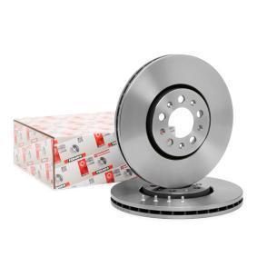 1J0615301C für VW, AUDI, SKODA, SEAT, PORSCHE, Bremsscheibe FERODO (DDF1221) Online-Shop