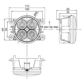 713120117010 Led дневни светлини MAGNETI MARELLI за VW GOLF 1.9 TDI 105 K.C. на ниска цена